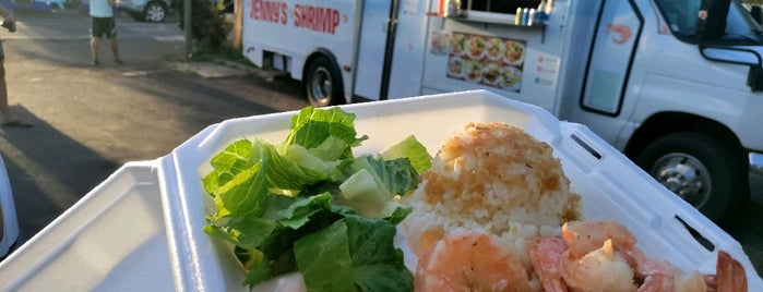 Jenny's Shrimp is one of Oahu.