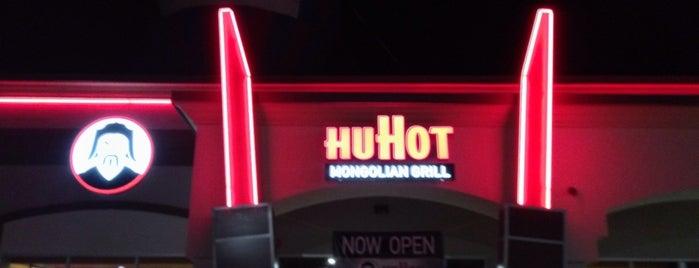 HuHot Mongolian Grill is one of Jr stilo.