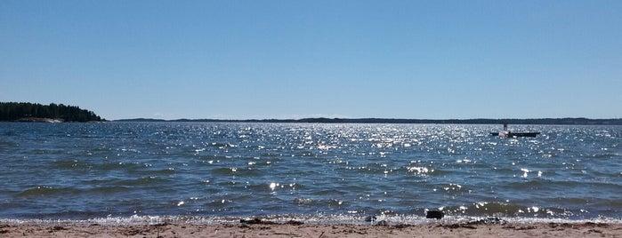 Lappvik stranden (Högsand) is one of finlandia.
