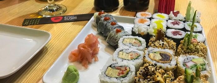 Edo Sushi is one of Ozgur'un Kaydettiği Mekanlar.