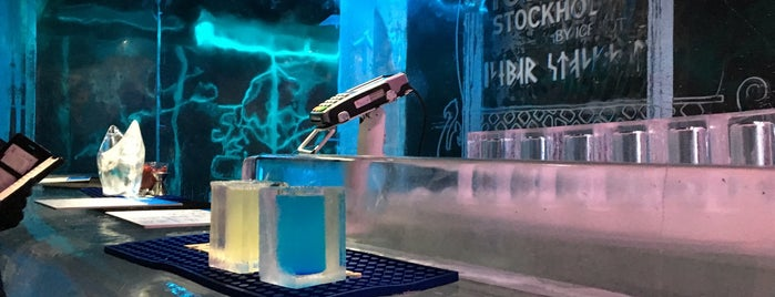 Icebar by Icehotel Stockholm is one of Locais curtidos por Oleksandr.