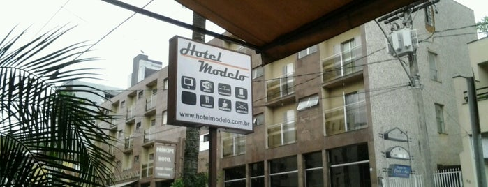 Hotel Modelo is one of Hotspots WIFI Poços de Caldas.