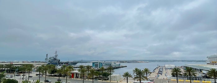 SpringHill Suites by Marriott San Diego Downtown/Bayfront is one of Sans.