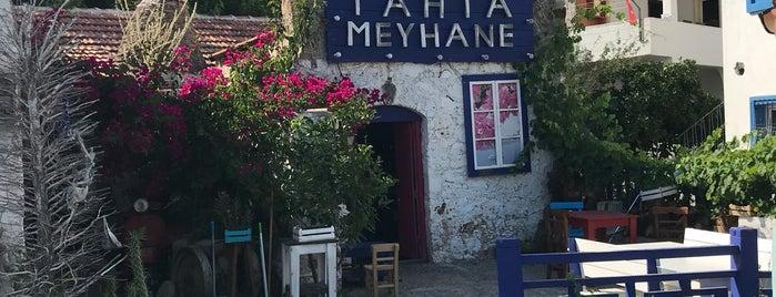tahta meyhane is one of Tempat yang Disimpan Enise.