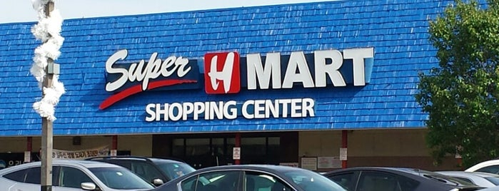 Super H Mart is one of Asian and International Markets.