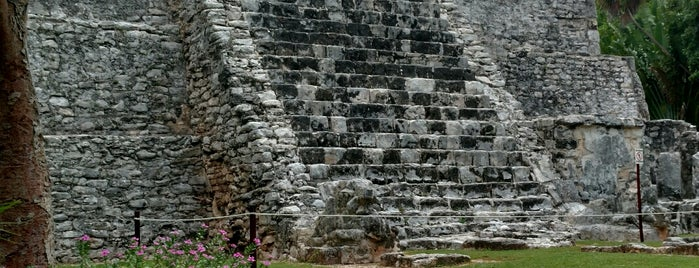 Zona Arqueológica El Meco is one of Cancún.