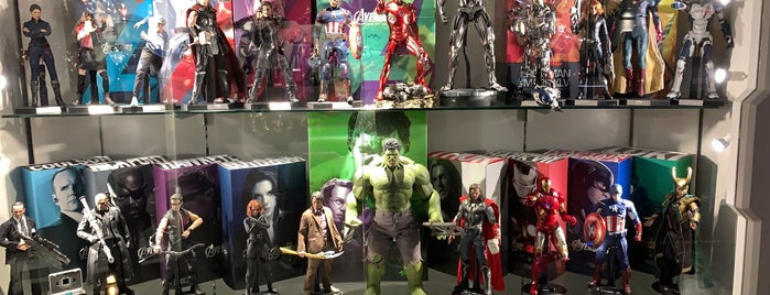 Hot Toys Secret Base is one of hong kong.