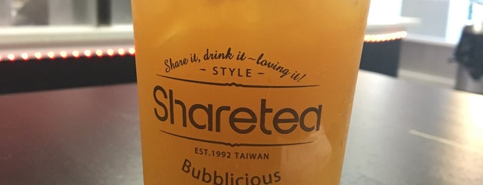 Sharetea is one of Locais curtidos por Tyler.