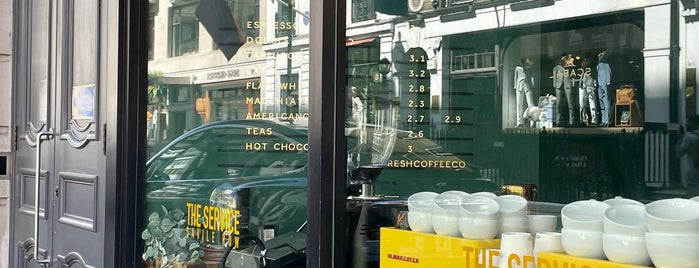 The Service is one of LDN - Brunch/coffee/ breakfast.