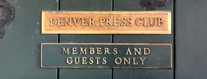 Denver Press Club is one of Posti che sono piaciuti a Jill.