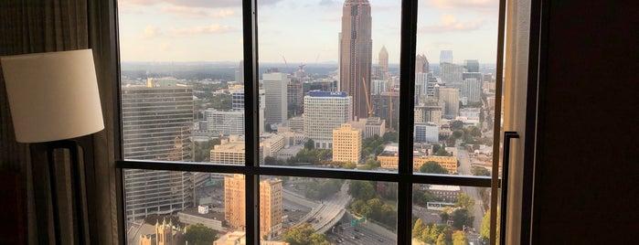 VIP Concierge Lounge @ Atlanta Marriott Marquis is one of TOMORROWWORLD U.S.A. 2013.
