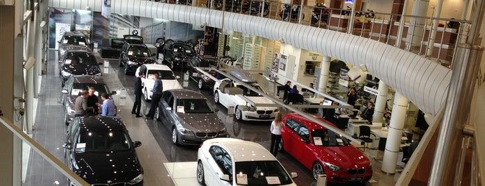 BMW АВТОDOM is one of Lieux qui ont plu à 🍉Гриш🅰ш🅰🐌.