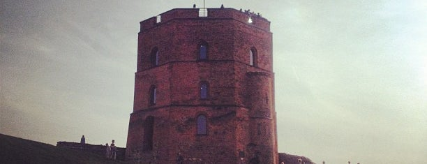 Gedimino Pilies Bokštas | Gediminas' Tower of the Upper Castle is one of Vilnius.