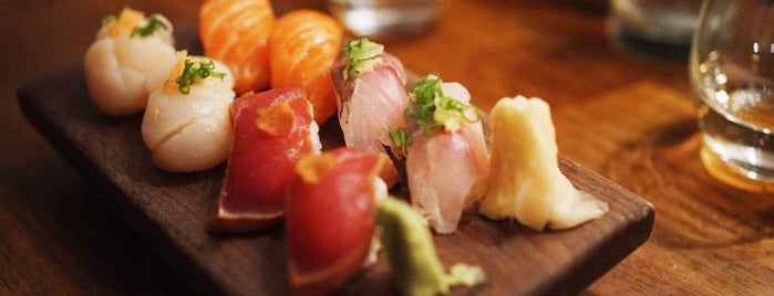 25 Top Sushi Spots in the U.S.