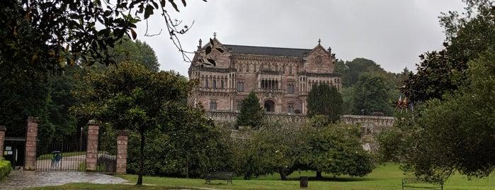 Palacio de Sobrellano is one of Ruta norteña.