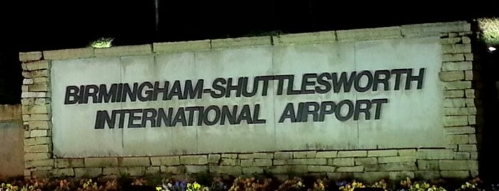 Birmingham-Shuttlesworth International Airport (BHM) is one of Airports been to.