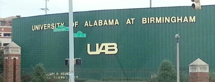 University of Alabama at Birmingham is one of Steel City.