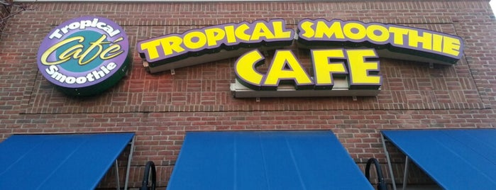 Tropical Smoothie Café is one of Tayeb : понравившиеся места.