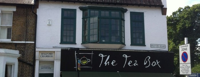 The Tea Box is one of Eat & Drink in Richmond.
