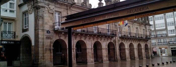 Praza Maior is one of Galicia: Lugo.