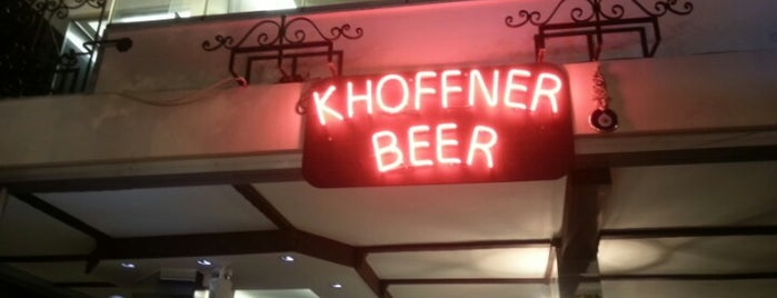 Khoffner Beer Garden is one of Lugares favoritos de Guray.