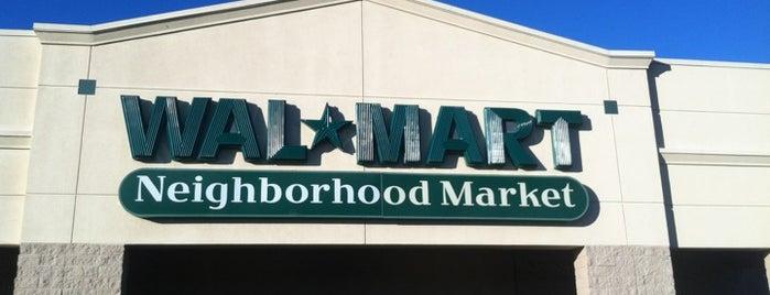 Walmart Neighborhood Market is one of barbee 님이 좋아한 장소.