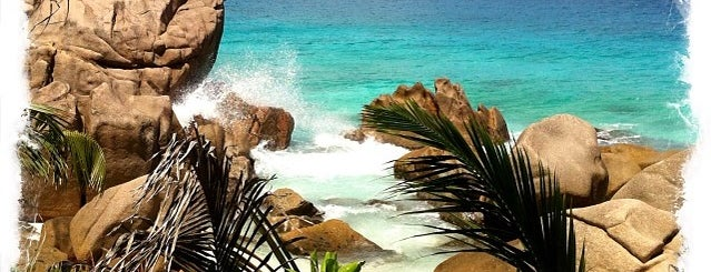 La Digue Island is one of Seychelles سيشل.