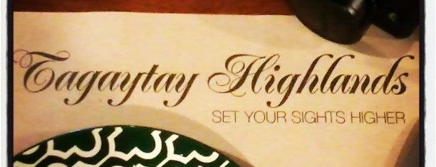 Tagaytay Highlands Country Club is one of Filipinler-Manila ve Palawan Gezilecek Yerler.