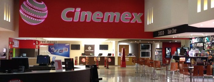 Cinemex is one of Orte, die R gefallen.