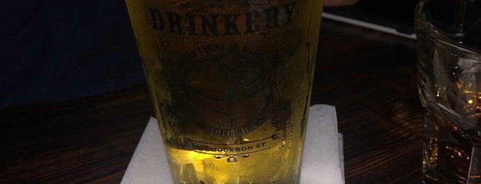 Bourbon Street Drinkery is one of Tempat yang Disukai Helio.