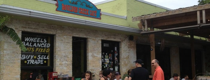 Bouldin Creek Café is one of Austin!!.