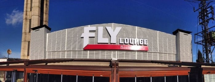 Fly Lounge & Cafe Bistro is one of Tempat yang Disukai Deniz.
