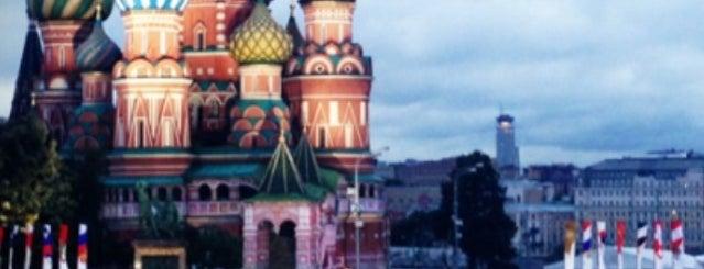 Красная площадь is one of UNESCO World Heritage Sites in Eastern Europe.