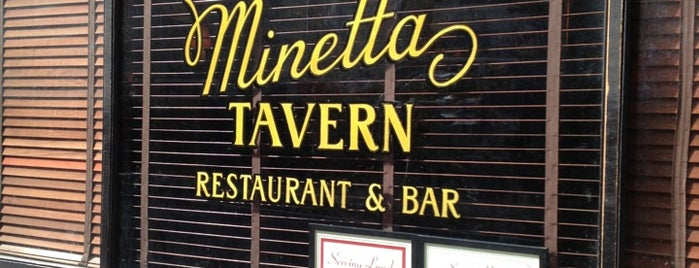 Minetta Tavern is one of New York.