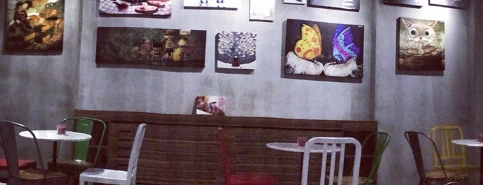 Page Cafe Gallery is one of Locais salvos de Merve.