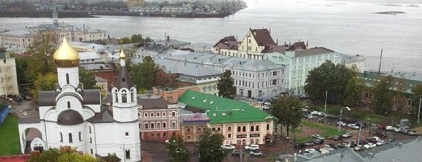 Смотровая Площадка Кремль is one of Floreさんのお気に入りスポット.