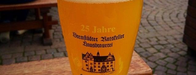 Darmstädter Ratskeller is one of Hotspots Hessen | Bier.