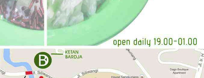 Ketan Bardja is one of What happens when food-addict strikes in Bandung.