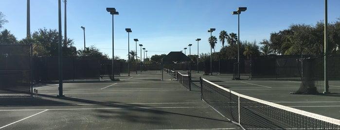dillon tennis center is one of Posti che sono piaciuti a Ted.