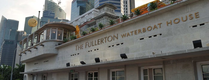 The Boathouse Restaurant is one of Singapore.