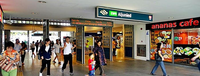 Aljunied MRT Station (EW9) is one of Singapore.