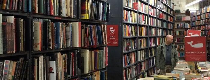 Strand Bookstore is one of Nova York.