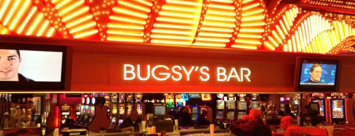 Bugsy's Bar at Flamingo is one of Trudy's list.