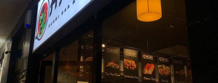 Hai Hai Sushi Bar&Asian Kitchen is one of Karşıyaka, İzmir.