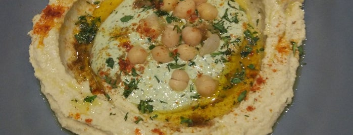 Hummus Bar is one of Moscow restaurants.