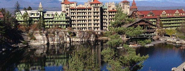 Mohonk Mountain House is one of Upstate.