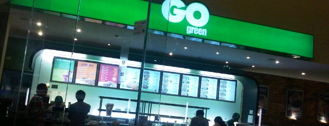 Go Green is one of Weird food.