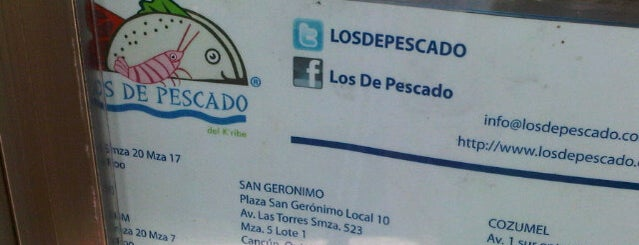 Los de Pescado is one of Fav Restaurants.