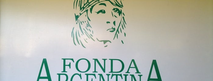 Fonda Argentina is one of Comida.