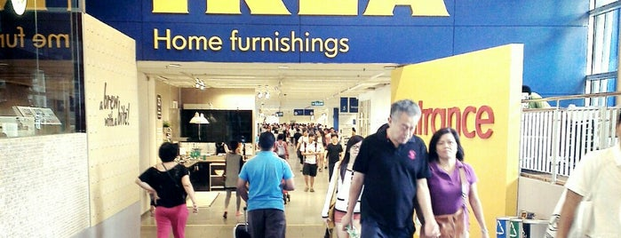 IKEA is one of Malaysia.